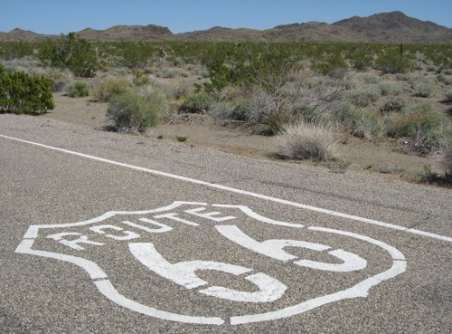 route 66 california mojave