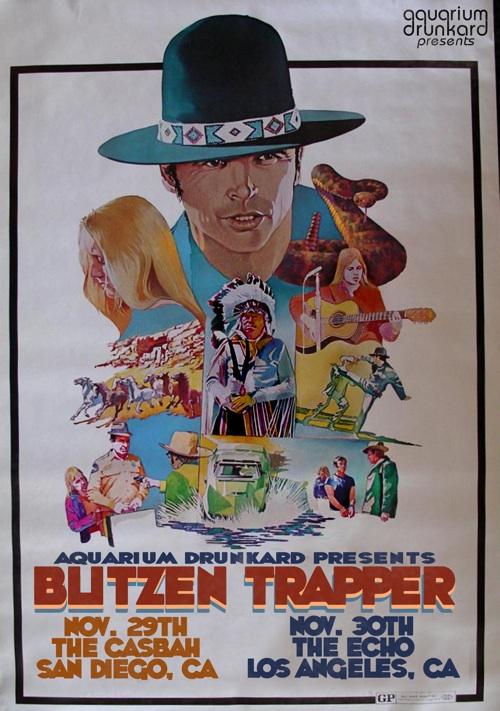 blitzen tour flyer aquarium drunkard presents