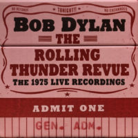 Bob Dylan – The Rolling Thunder Revue: The 1975 Live Recordings album cover
