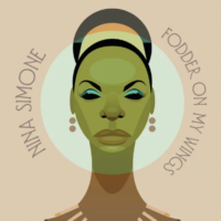 Nina Simone – Fodder on My Wings album cover