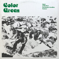 Color Green – EP album cover